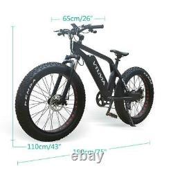 Vtuvia Nouveau Sn100 Fat Tire Vélo Électrique Tous Route Ebike Vélo-35 Km 45 Kmh
